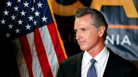 Kalifornian kuvernööri Gavin Newsom