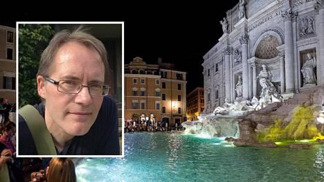 Tukholmassa asuva Tahvo Jauhojärvi löysi tyttärensä Roomasta.