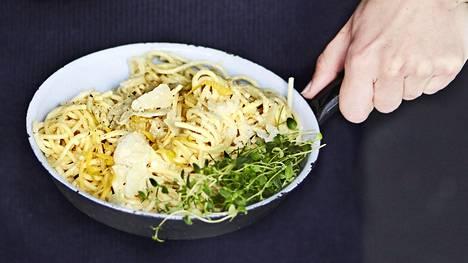 Annin pasta sopii esimerkiksi lounaalle.