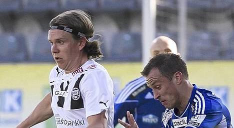 Mika Ääritalo osui TPS:lle.