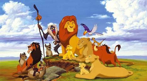 Alkuperäinen Leijonakuningas-animaato julkaistiin vuonna 1994.