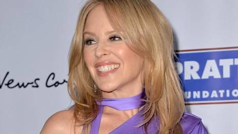 Kylie Minogue palaa kotimaahansa Australiaan.