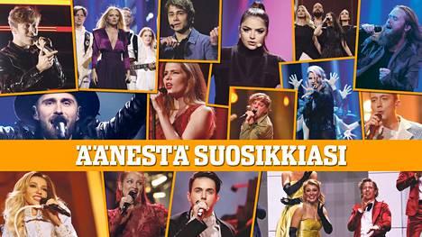 Ketkä ovat sinun mielestäsi euroviisujen 2. semifinaalin parhaat? Äänestä täällä