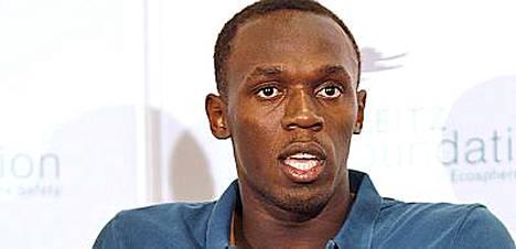 Usain Boltilla on selvät suunnitelmat.
