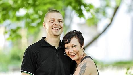 Elisa Kristiansson ja Kristian Wickström vihitään tänään.