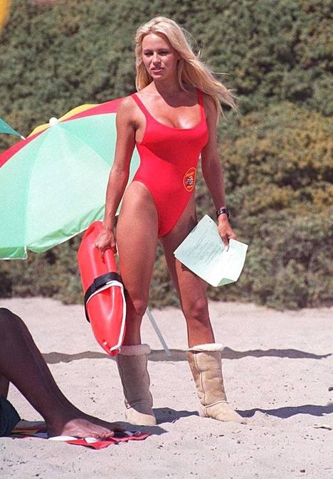 Pamela Anderson muistetaan ikimuistoisesta roolistaan CJ Parkerina Baywatchissa.