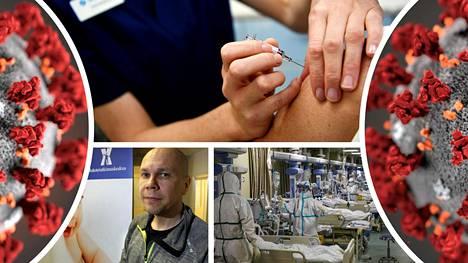 Koronavirusrokotukset alkavat Suomessakin ehkä jo kuukauden sisällä. Rokotetutkimuskeskuksen johtaja Mika Rämet (alh. vas.) kertoo monta syytä, miksi rokotus kannattaa hankkia.