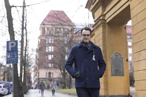Hypon pääekonomisti Juhana Brotherus sanoo, että asuntojen hinnat laskevat koko maassa. Arkistokuva.