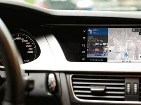 Nokian Here -palvelut tulevat myös autoihin.