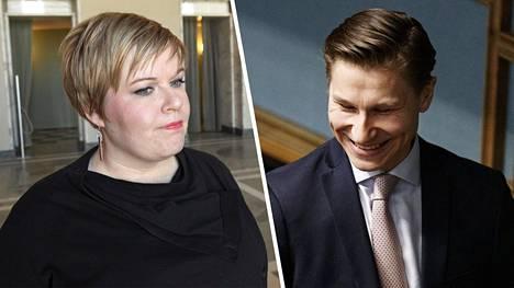 Peruspalveluministeri Annika Saarikon (kesk) mukaan yksi uudistuksen tärkein oppi on se, että vaalikausi on lyhyt aika näin suurelle uudistukselle. Antti Häkkänen ei jää kaipaamaan maakuntia.