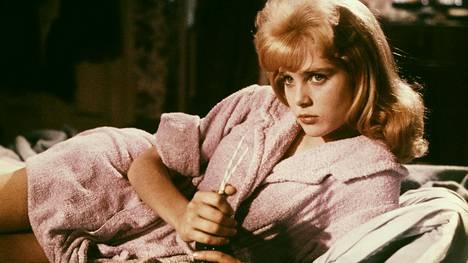 Sue Lyon kuvattuna elokuvassa Lolita (1962).