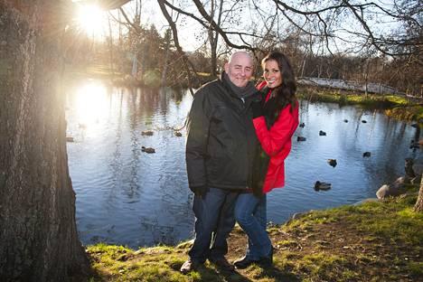 Dennis Bramley ja Jasmin Mäntylä Oulussa viime marraskuussa.