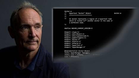 Tim Berners-Leen kehittämä verkkosivut mahdollistaneen www:n ohjelmakoodi on noin 10000 riviä pitkä.