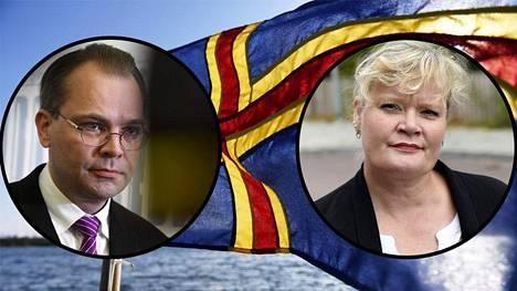 Katrin Sjögren pitää Jussi Niinistön puheita sotilaallisesta tyhjiöstä Ahvenanmaalla tarpeettomana provokaationa.