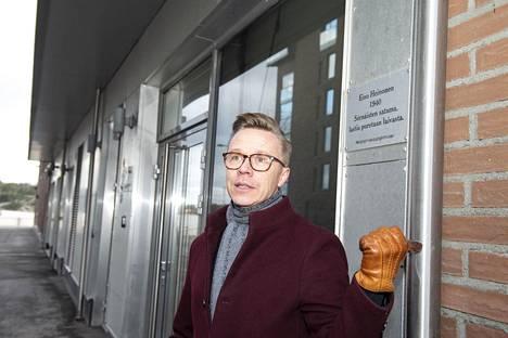 Jarkko Huttunen ei muuttaisi enää yksityiselle vuokranantajalle.