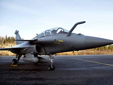 Dassault Rafale osallistui HX-hankkeen testeihin tammikuussa 2020.