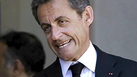 Ranskan presidentti Nicolas Sarkozy