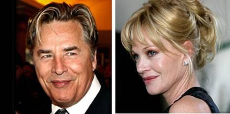 Don Johnsonin ja Melanie Griffithin teini-ikäinen tytär on joutunut vieroitushoitoon.