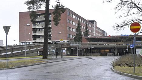 Kanta-Hämeen keskussairaala Hämeenlinnassa.
