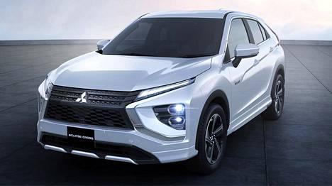 Töpselisähköä hyödyntävä Mitsubishi Eclipse Cross on uudistunut myös muotoilultaan.