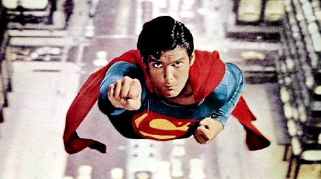 Christopher Reeve tunnetaan roolistaan Teräsmies-elokuvassa vuodelta 1978.