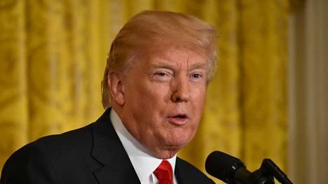 Presidentti Donald Trump on pyrkinyt rajoittamaan maahanmuuttoa Yhdysvaltoihin.