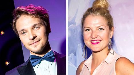 Roope Salminen ja Helmi-Leena Nummela ovat yksivuotiaan lapsen vanhempia.
