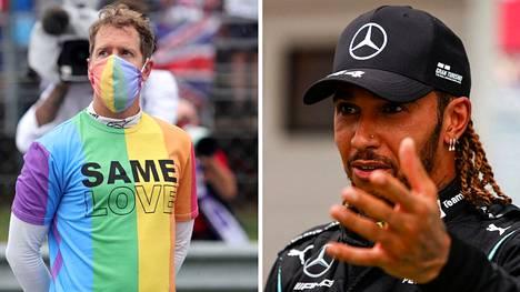 Formulakuskien päällä on parin viime kauden aikana nähty usein erilaisia kantaaottavia paitoja.