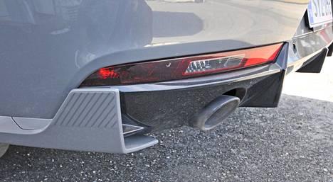 508 PSE:ssä on runsaasti aerodynaamisia yksityiskohtia.