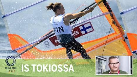 Tuuli Petäjä-Siren jahtaa paikkaa lauantain 10 urheilijan mitalilähtöön.