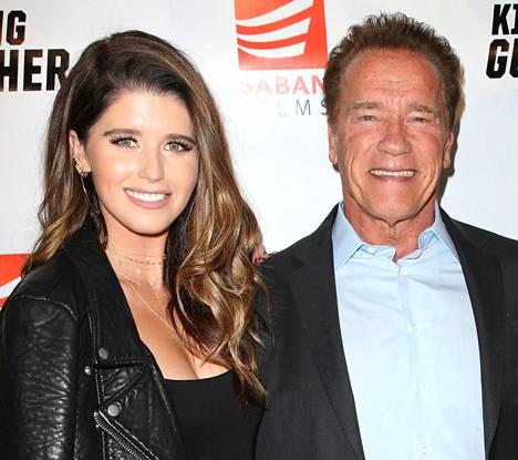 Kohta kolmekymppinen Katherine on Arnold Schwarzeneggerin esikoinen.