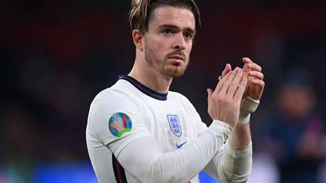 Englannin EM-joukkueessa pelannut Jack Grealish on lähellä siirtoa Manchester Cityyn.