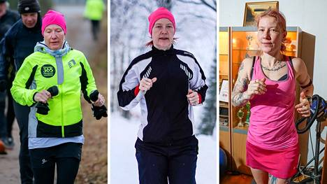 Maraton taittui ulkona lähes säällä kuin säällä – ja huonoimmalla ilmalla juoksumatolla.