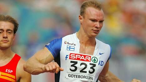 Simo Sipilä edusti Suomea Göteborgin EM-kisoissa 2006.