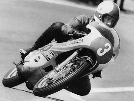Jarno Saarinen oli ratamoottoripyöräilyn ensimmäinen suomalainen maailmanmestari.