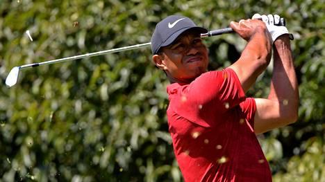 Tiger Woods vetäytyy golfturnauksesta niskavenähdyksen vuoksi