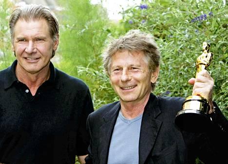 Vuonna 2003 näyttelijä Harrison Ford vei Roman Polanskille Oscar-palkinnon Ranskaan.