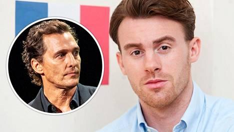 Rory Curtis (oik.) osasi yllättäen ranskaa ja luuli olevansa näyttelijä Matthew McConaughey.