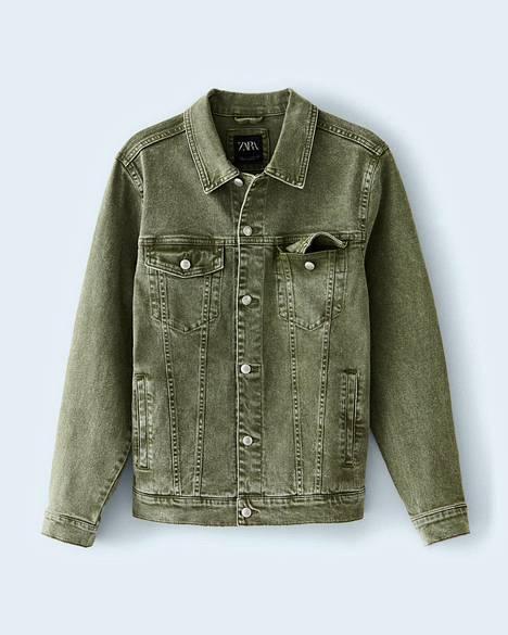 Vihreäsilmäiset miehet huomio – tällä takilla korostat silmienväriä entisestään, 39,95 €, Zara.