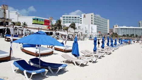 Cancún on turistien suosima rantalomakohde Meksikossa. Moisés Escamilla May oli alueen suurimpia kokaiinin toimittajia ennen kuin hänet vangittiin vuonna 2008.