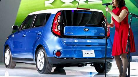Etuvetoisen Soul EV:n voimanlähteenä on 109-hevosvoimainen sähkömoottori, joka tuottaa vääntöä 284 Nm.