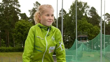Alisa Vainio juoksi syyskuussa maratondebyytissään huippuajan 2.33.24 ja alitti Rion olympiarajan.