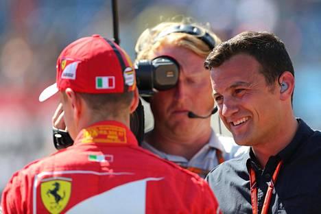 Will Buxton on tällä kaudella tehnyt useissa F1-kisoissa aika-ajojen kärkikolmikon ratahaastattelut kansainväliseen tv-yhteyteen.