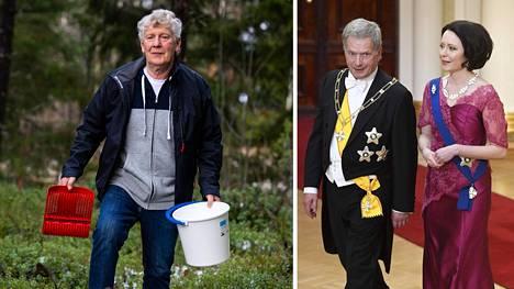Raahelainen Aimo Karppinen on supermarjastaja. Hän sai kutsun Linnan juhliin.