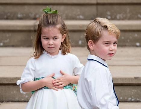 Charlotte ja George ovat nyt jo hyvin tunnettuja ympäri maapalloa, vaikka ovat vasta niin pieniä.