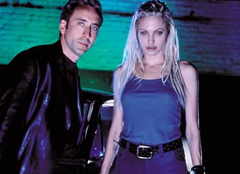 Cage ja Angelina Jolie tähdittivät Puhallettu 60 sekunnissa -elokuvaa.