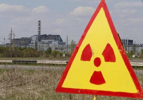 Tshernobylin ydinvoimala kuvattuna vuonna 2015.