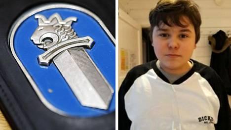 Poliisi julkaisi tiistaina kadonneen pojan tuntomerkit ja valokuvan.