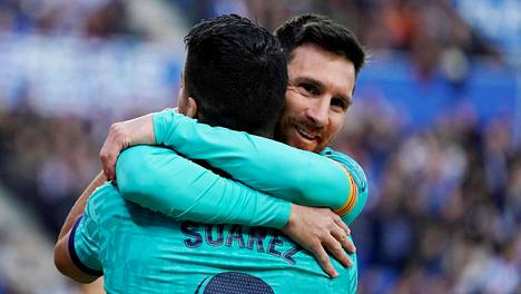 Lionel Messi hyvästeli seuraa vaihtaneen ystävänsä Instagramissa.