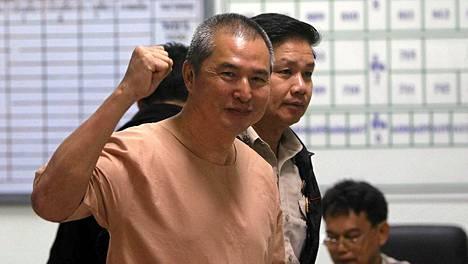 Somyot Prueksakasemsuk on saanut 11 vuoden vankeustuomion.